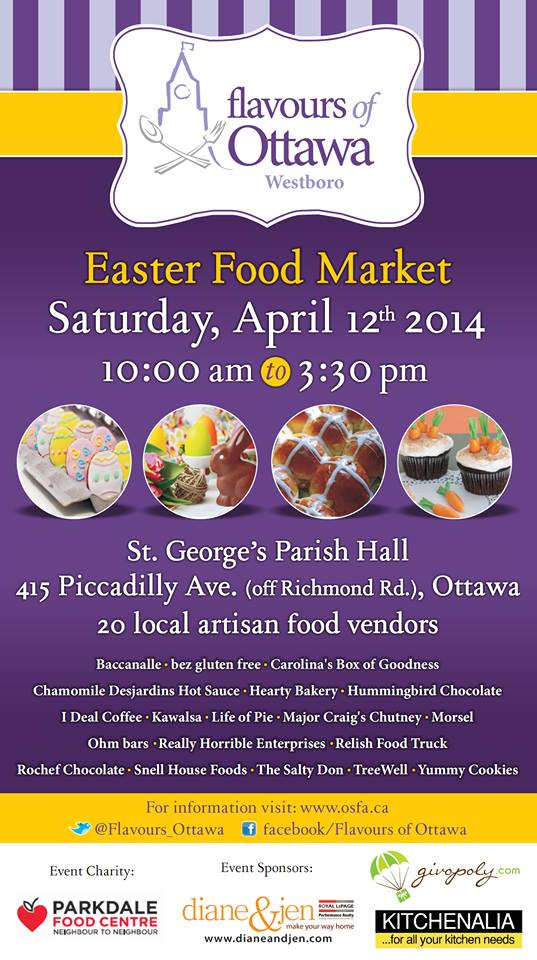 Flavours of Ottawa Easter Food Market
